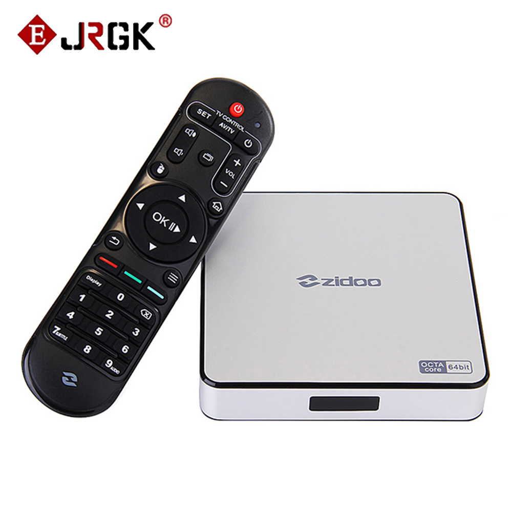Zidoo X6 Pro 4K*2K H.265 Smart Android 5.1 TV Box RK3368 Octa Core 2GB 16GB 1000M LAN Dual WIFI KODI Bluetooth 3D Media Player zidoo x6 pro android 5 1 lollipop octa core tv box rk3368 2gb 16gb 1000m lan dual band wif bt4 0 4k 2k h 265 kodi 3d