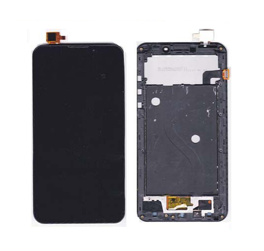 100% Guarantee Black Complete LCD display + Digitizer Touch Screen Assembly WITH FRAME For UMI C1 Android cellphone for datalogic falcon x3 lcd screen display with touch screen digitizer assembly complete for 3rd version