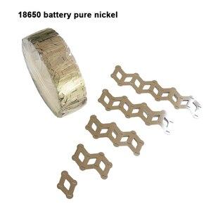 Image 3 - Tira de níquel puro de batería para 18650, paquete de batería de litio, correa de níquel puro, cinta de níquel 18650