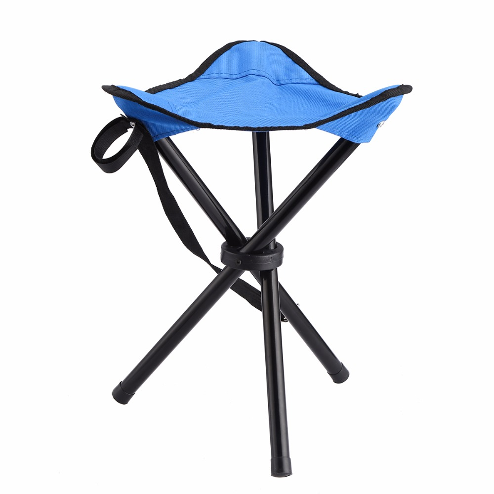 Outdoor Portable Folding Large Three Legged Camping Chair