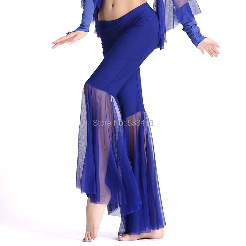 Belly Dance Dancing Wear Trousers Milk Silk Gauze Exercise Belly Dance Pants