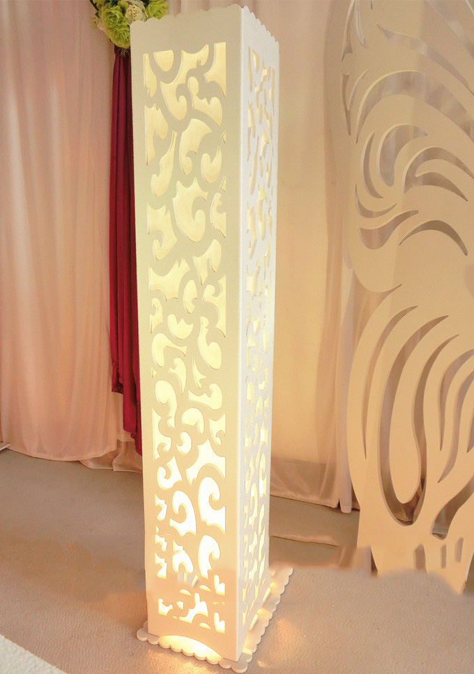6pcs luxury wedding t road column free shipping wedding for Decoration stand