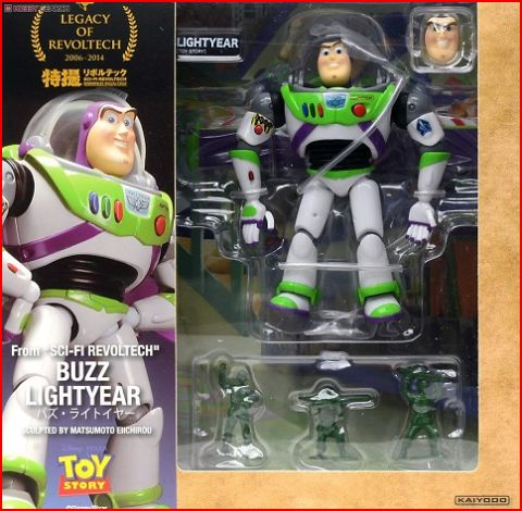 Disney Toy Story 4 Buzz Lightyear NO.011 Sci-Fi Revoltech Action Figure Models Toy Story 3 4 Woody Buzz Lightyear Gifts For Kid
