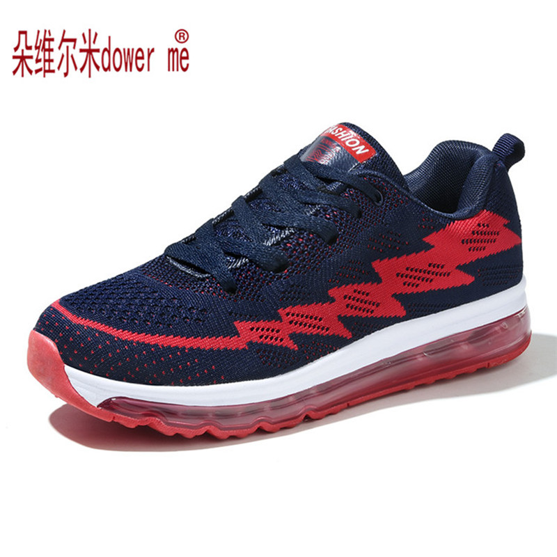 2017 Spring Fashion Air Breathable Men Women Casual Shoes Flat Men's Trainers Walking Zapatillas Deportivas Mujer
