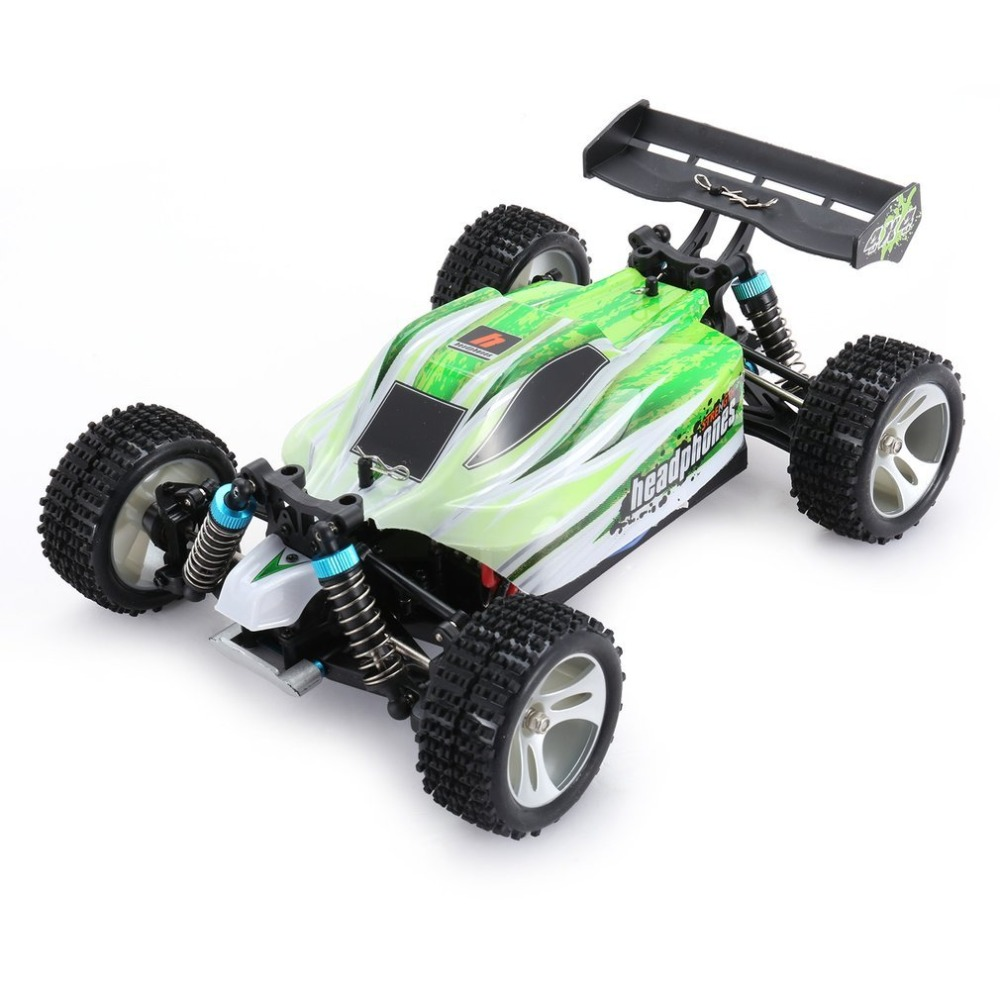New Upgraded WLtoys A959-B 2.4G 1/18 Remote Control 4WD Vehicle 70KM/h High Speed Car Electric RTR Off-road Buggy RC Racing Car