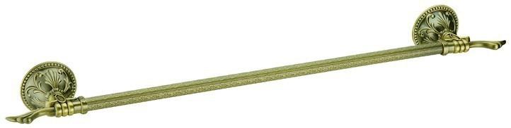 Barre simple en Bronze Antique en laiton massif, AB008b-2 de queue Antique de support de BronzeTowel
