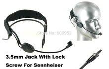High Qulity Black Headset Head Microphone For Se nn hei ser Wireless G1 G2 G3  все цены