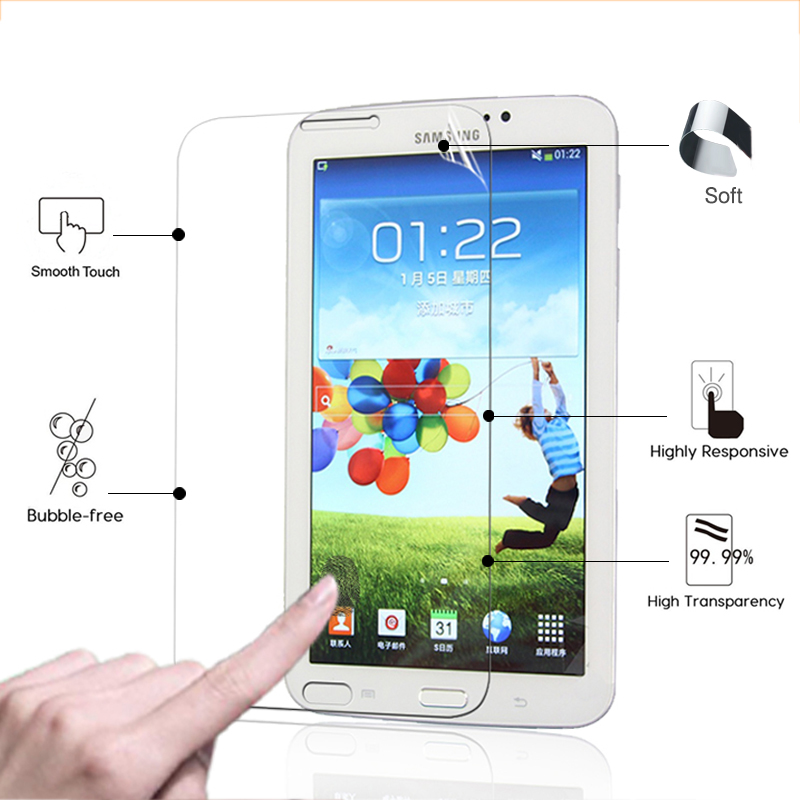 HD <font><b>LCD</b></font> Anti-Scratched Screen Protector Film For <font><b>Samsung</b></font> Galaxy Tab 3 T210 <font><b>T211</b></font> p3200 p3210 7.0