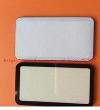 NEUE Top Outer LCD Anzeige Fenster Glas Abdeckung (Acryl) + BAND Für Nikon D850 Kleine Schirm Schutz Digital Kamera Reparatur Teil