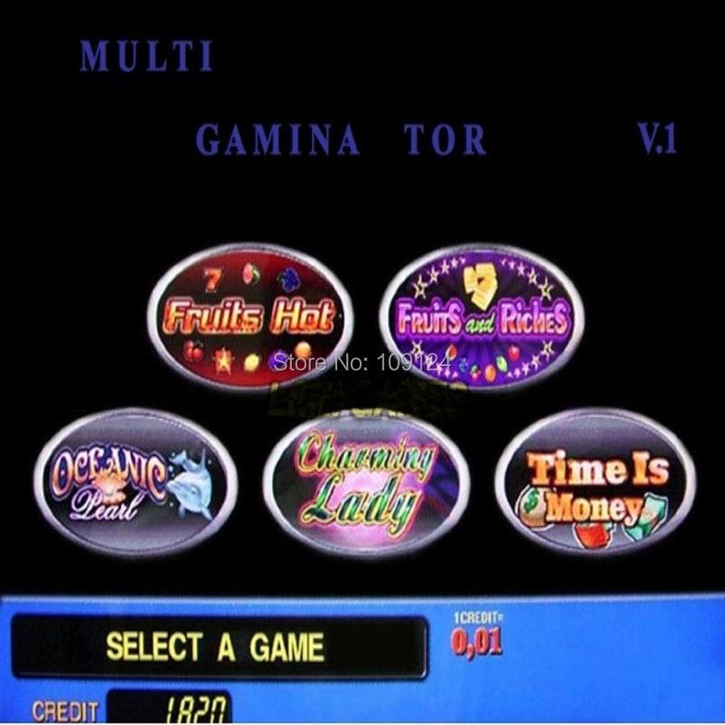 Multi gambling board/VGA game PCB Gaminator 5 1 Ver casino pcb LCD slot arcade machine/gambling machine - Guangzhou LOL Electronic Co., Ltd store
