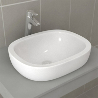 Standard Bathroom Aidike 0626 Bowl Basin Table Art Basin Ceramic Washbasin Basin Table Basin Household Use