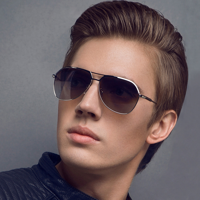 2017 Metal Moda óculos de Sol Reflexivos Homens Esportes Óculos de Sol Ao Ar Livre Praça Eyewear Gafas de sol E021