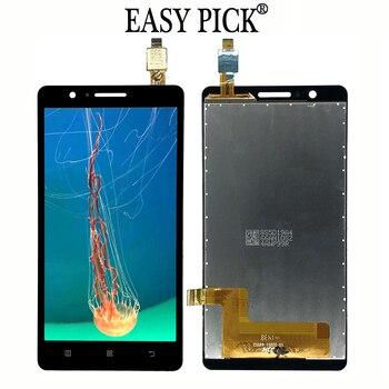 สำหรับ Lenovo A536 จอแสดงผล LCD Touch Screen Digitizer การเปลี่ยนชุดกรอบ