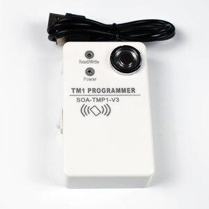 Image 2 - Copieur et lecteur RFID, 125Khz, DS1990A TM iputton, 2 pièces de carte vierge RW1990, 2 pièces de keyfoks 125kz EM4305