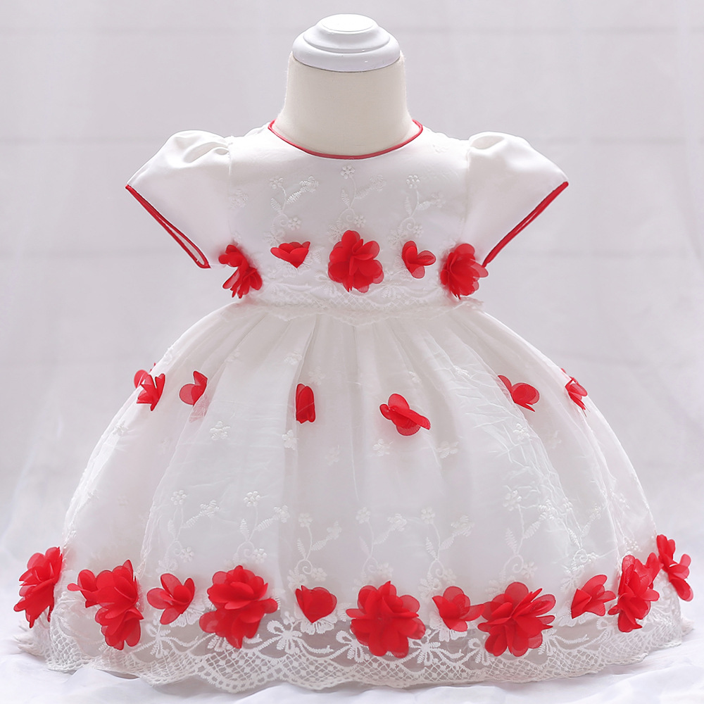 Baby Girls Dress Party Princess Christmas Dresse Wedding birthday Baby dress Girl infant clothes baptism Vestido bebes 18 styles