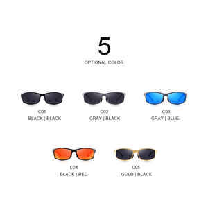 Image 5 - MERRYS DESIGN ผู้ชายโลหะผสมอลูมิเนียมคลาสสิกแว่นตากันแดด HD แว่นตากันแดด Polarized กีฬากลางแจ้ง UV400 ป้องกัน S8266