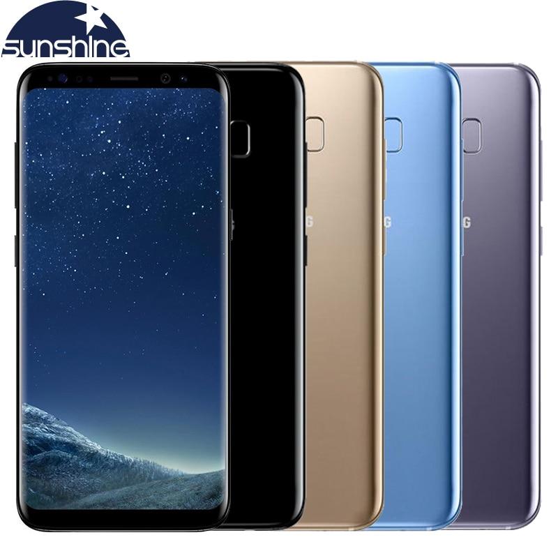 Original samsung galaxy s8 4g lte teléfono móvil 5.8 ''mp 4g ram 64g rom octa co