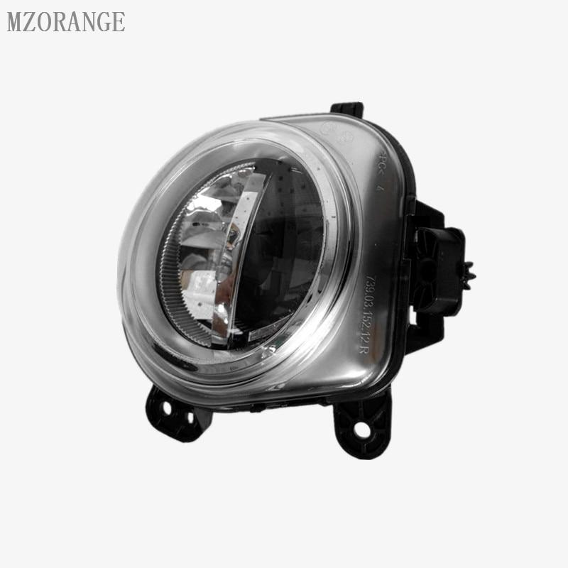 MZORANGE Car LED Light For BMW X3 F25 2010 2011 2012 2013 2014 2015 2016 2017 Car-Styling Front DRL Fog Light Fog Lamp Assembly car led light for audi a4 b8 s4 a4 allroad 2008 2009 2010 2011 2012 2013 2014 2015 car styling led fog light fog lamp