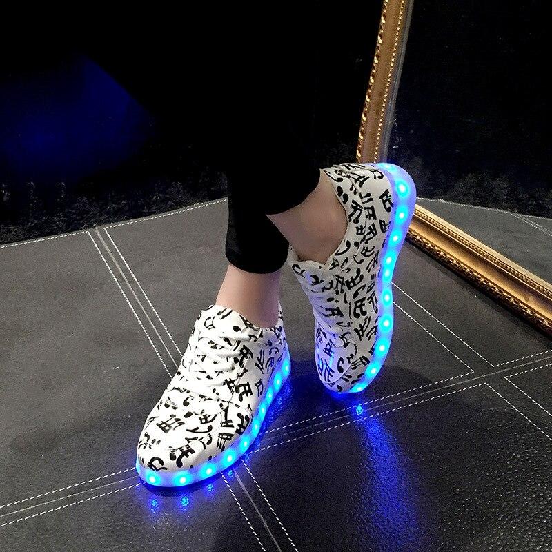 Key Account LY Caliente Luz Colorida Mujeres Amantes de Zapatos Zapatos Fluoresc