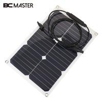 Durable Solar Panel Solar Cells Photovoltaic Panels Sun Power DIY Module Monocrystalline Silicon 18V 330X280mm