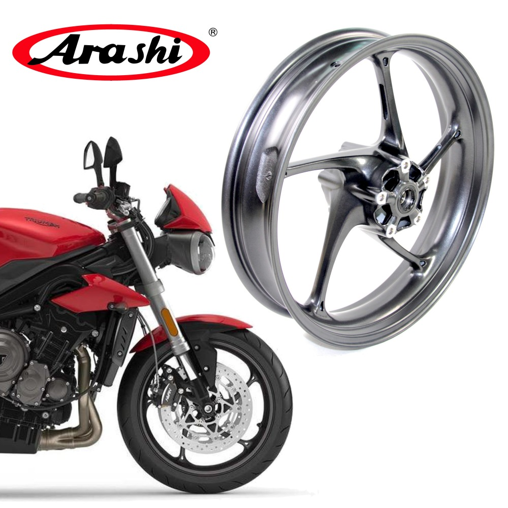 Arashi Street Triple 675R 13-15 Front Wheel Rim Rims For Triumph Street Triple675R 675 R 2013-2015 2014 13 14 15 DAYTONA 675R