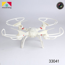 купить Mould King Remote Control Helicopter 33041 Outdoor Drone 4CH 6-Axial Metal 3D roll 2.4GHz Quadcopter Aircraft Toy Gift FSWB по цене 1628.28 рублей