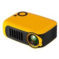A2000 mini projektor pico domu 1080P HD projektor HDMI USB wielu metody wprowadzania trzy kolory do usa wielka brytania ue AU w Ekrany projekcyjne od Elektronika użytkowa na