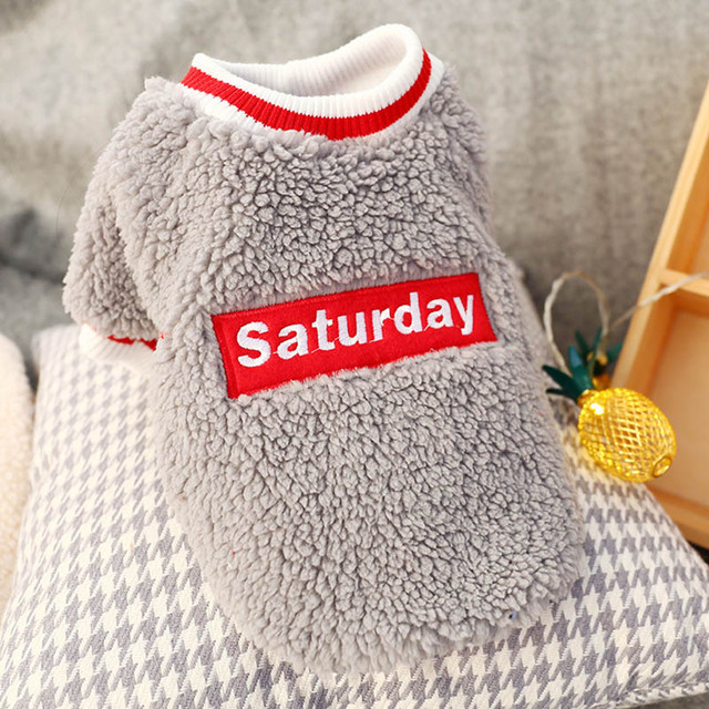 Winter Warm Pet Dog Sweatshirt Pullover Cozy Puppy Clothes for Small Dogs Yorkshire Cat Clothing Hoodie moletom feminino inverno 4