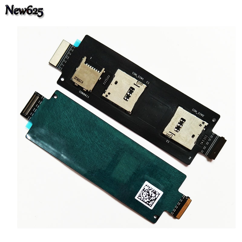 Original SIM Card Reader Holder Slot Flex Ribbon Cable For ASUS ZenFone 2 5.5 Inch ZE551ML ZE550ML Sim Cards Adapters