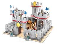 Ausini Model building kits compatible with lego city castle 686 pcs 3D blocks model building toys hobbies for children
