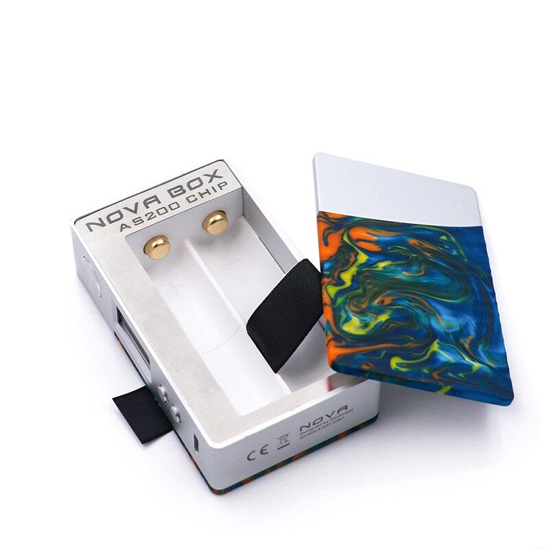 2018 Le Plus Chaud d'origine Geekvape Nouvelle boîte mod 200 w e-cig mod alimenté par AS200 chipset pour zeus double RTA beaucoup mieux que glisser mod - 4