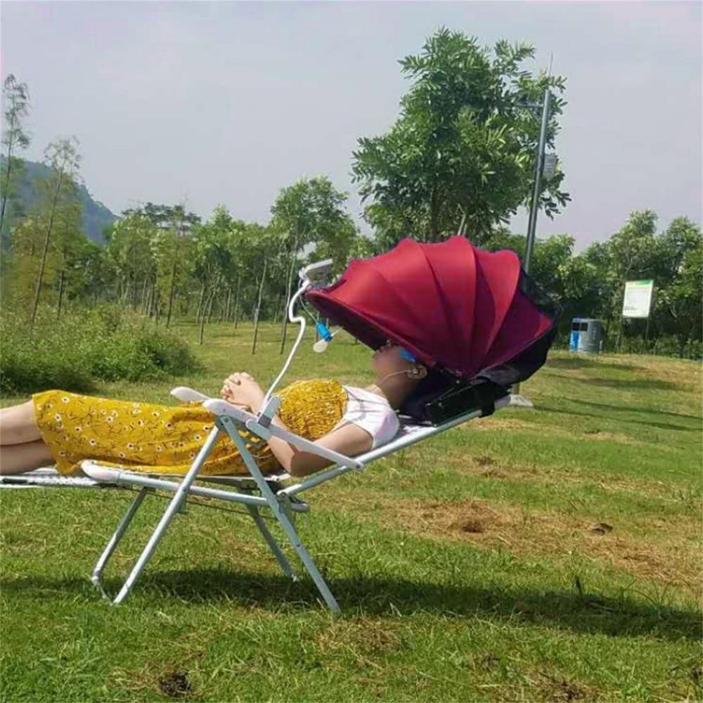 Facile Pop Up plage tente soleil abri tente soleil ombre parasol imperméable Polyester Anti-ultraviolet rayonnement Mini ventilateur livraison gratuite