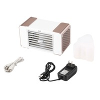 Practical Design Compact Size Personal USB Air Conditioner Air Cooler Home Office Desk Cooler Cooling Bladeless Fan