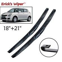 Erick's Wiper Front Hybrid Wiper Blades For Suzuki Swift MK1 MK2 1995 - 2010 Windshield Windscreen Front Window 21