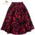 2017 retro rockabilly vintage saia floral impressão vestido de baile midi Skater Saia de Verão Saias de Cintura Alta 50 s Pin Up Saias das mulheres