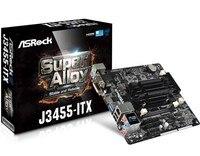 Full new ASRock J3455 ITX Mini Integrated CPU Quad Core Motherboard NAS
