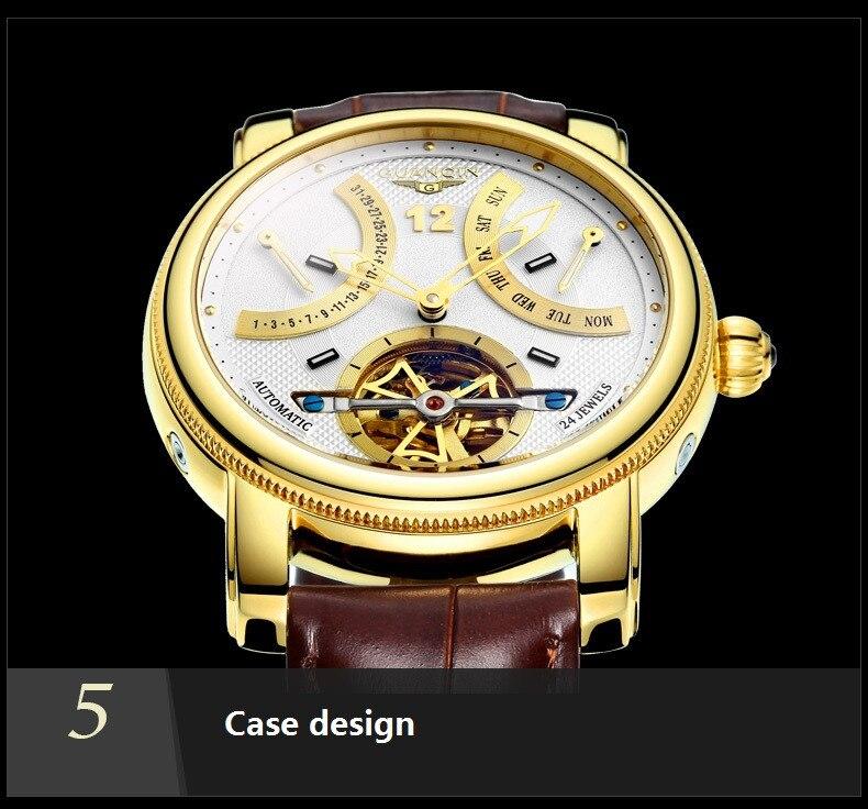 Male Luxury Waterproof Clock
