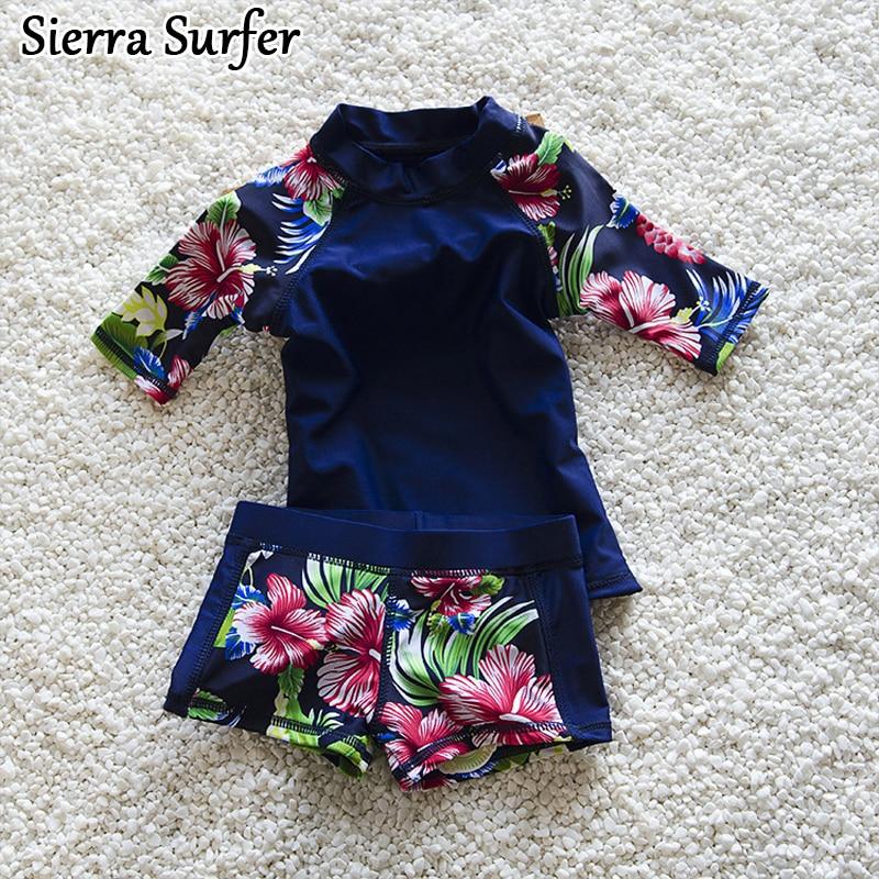 Swimming Suit For Girls Baby Girl Swimwear Swimsuit Girls Kids Cute Split Boxer Two Piece Children 2018 Beachwear