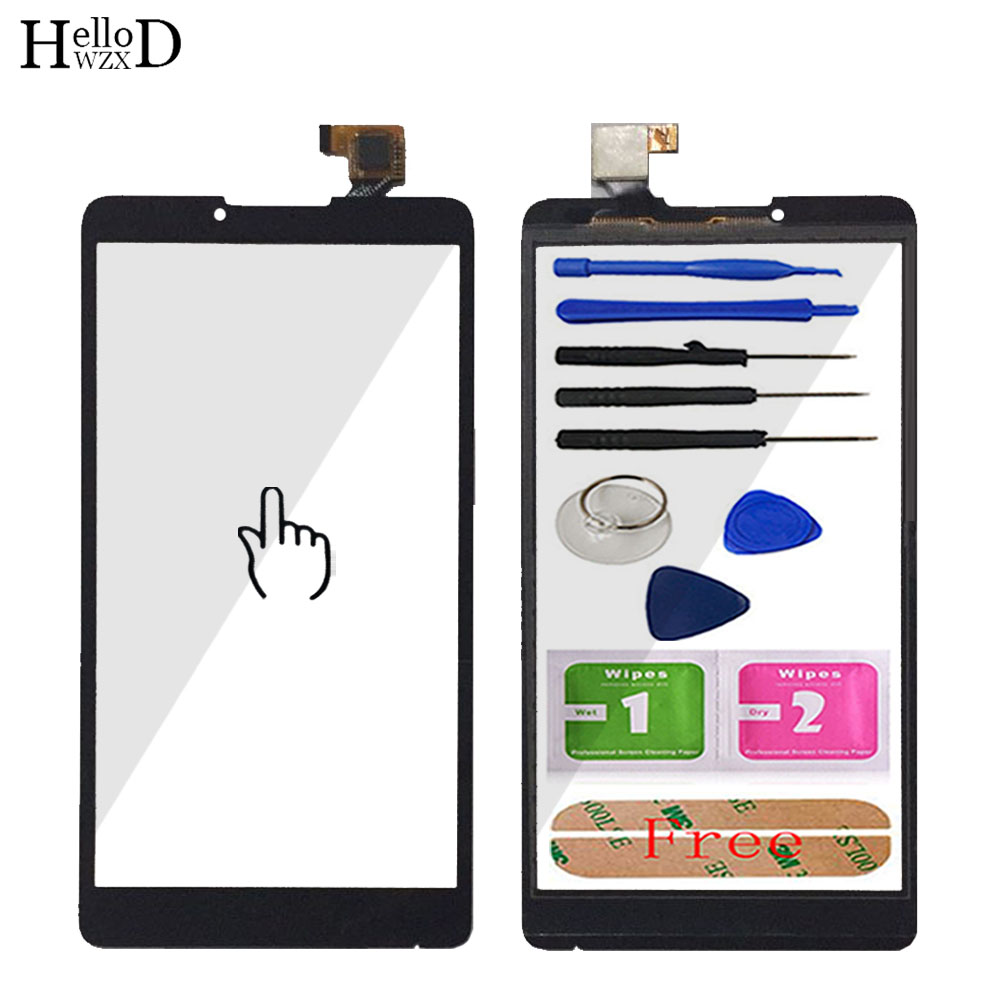 HelloWZXD 6.0 Inch Phone Touch Screen Front Glass For Lenovo A880 880 Digitizer Replacement Panel Lens Sensor Tools Adhesive