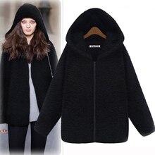 2016 Winter Jacket Women Basic Coats Thick Oversized Cardigans Poncho Long Coat Bomber Jacket Parkas Trui Casaco Feminino S178