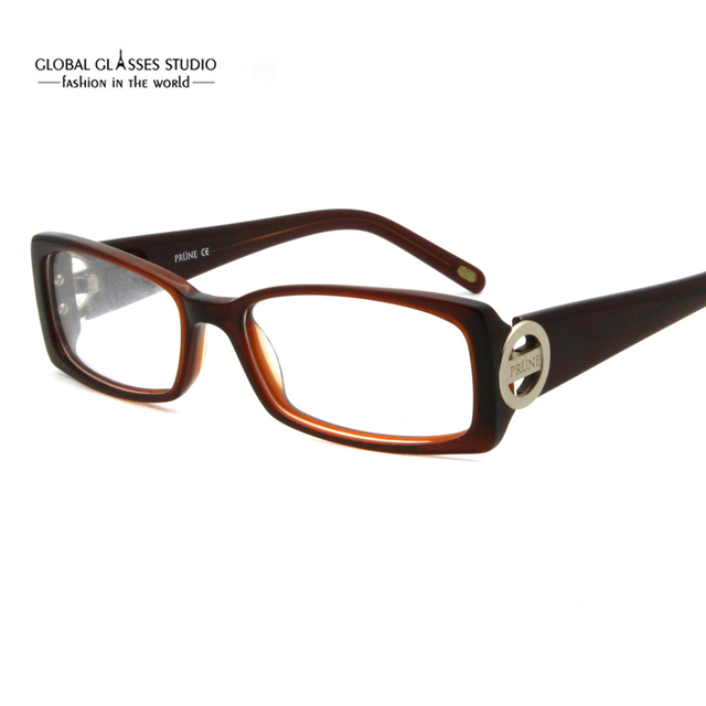 11a151e2d1589b Gratis Verzending Klassieke Vierkant Ontwerp Naam Fashion Hoge Kwaliteit  Vrouwen Eyewear Bril Optische Brillen Frame Anubis