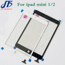 10 Pcs Écran Tactile de Remplacement Pour iPad mini 1 & 2 mini1 mini2 Blanc Noir Écran Tactile Digitizer verre sans autocollant