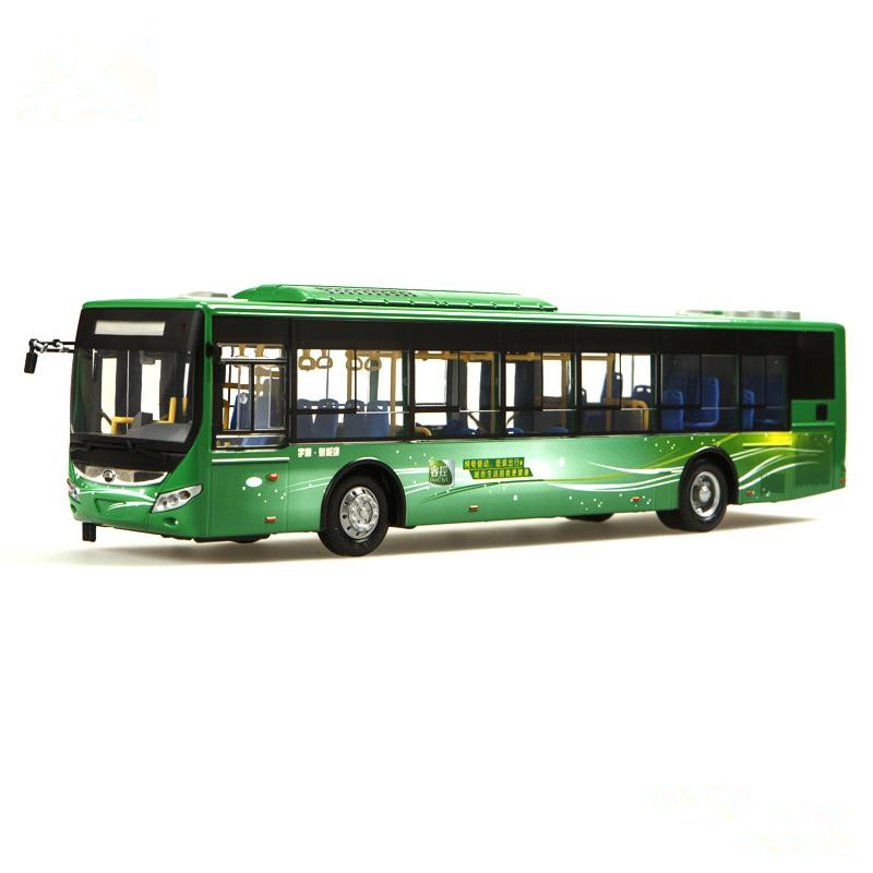Collectible Alloy Model Gift 1:42 Original Yutong ZK6125CHEVPG21 Hybrid City Transit Bus Vehicle DieCast Toy Model DecorationCollectible Alloy Model Gift 1:42 Original Yutong ZK6125CHEVPG21 Hybrid City Transit Bus Vehicle DieCast Toy Model Decoration