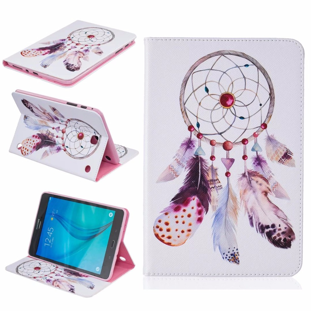 Buy High Quality Fashion Painting Book Case Cover For Samsung Galaxy Tab A P355 80 T350 T351 T355