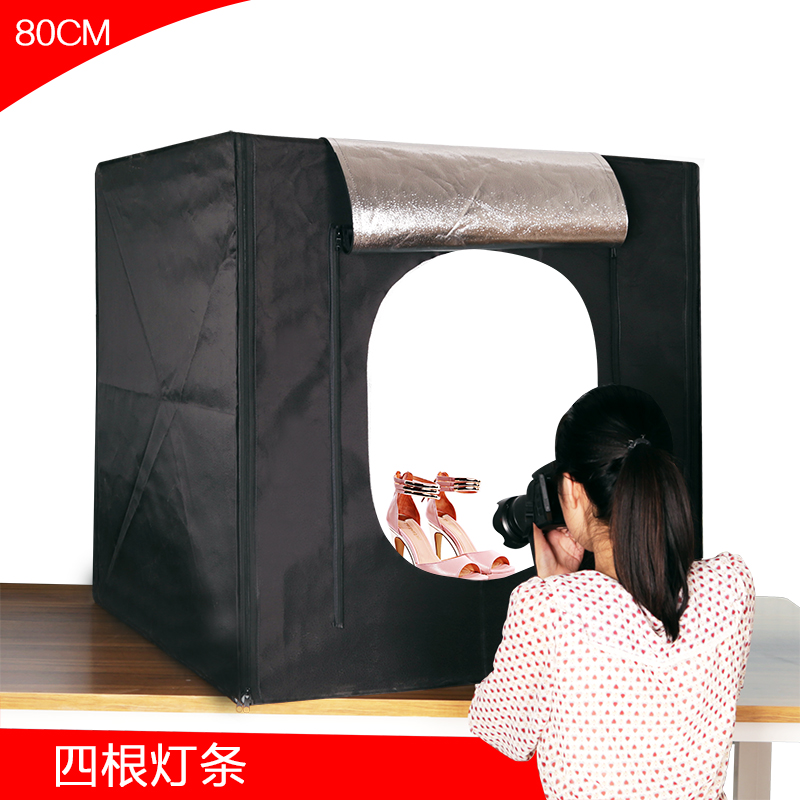 Portable Square shooting tent photo Studio Light tent box tent light tent photography light 80CM box led photo studio CD50-in Photo Studio Accessories from ...  sc 1 st  AliExpress.com & Portable Square shooting tent photo Studio Light tent box tent ...