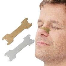 100/50 sztuk oddychać prawo lepsze plastry na nos właściwy sposób, aby zatrzymać chrapanie paski przeciw chrapaniu łatwiej lepiej oddychać opieki zdrowotnej