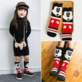 2pcs Toddler Baby Girl Kids Xmas minnie mouse High Knee Socks 0-6Y
