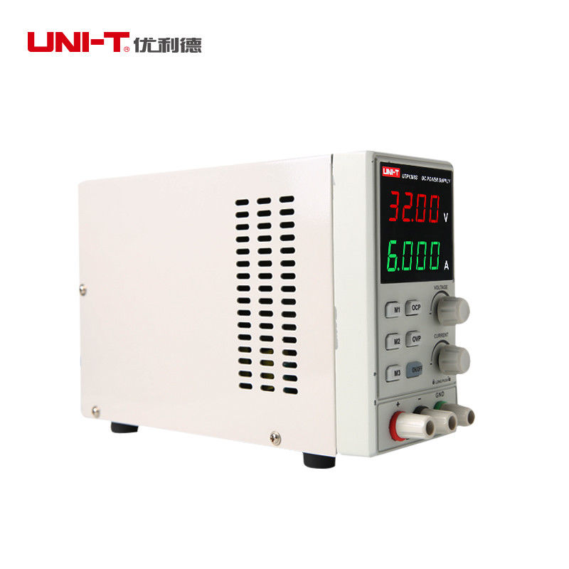 Image 4 - UNI T UTP1306S Adjustable DC Power Supply Single AC 32V/6A 4Bits 220V input OVPVoltage Meters   -
