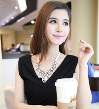 NANBO M (Mix Item) SPX3411 New Fashion Gem Stone Big Chunky Necklace Body Jewelry For Woman