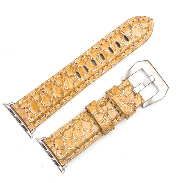 Strap for Apple Watch Leather Band 44mm 38mm 40mm Bracelet For Apple Watch Bands 42mm Leather Straps for iWatch Series 4321   Watchbands
